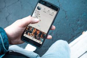 Promuovere una foto su Instagram