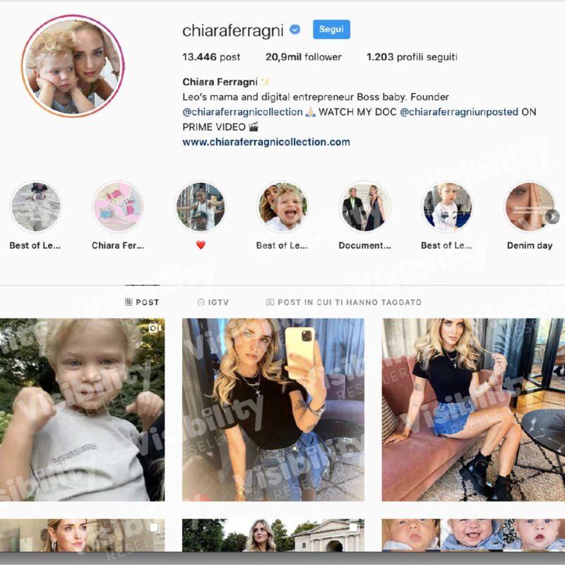 Chiara Ferragni su Instagram, come ha spopolato?