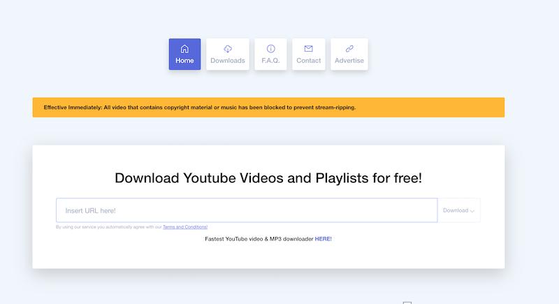 Ddownr youtube, un servizio web per scaricare video