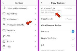 como no ver las historias de alguien en instagram 3