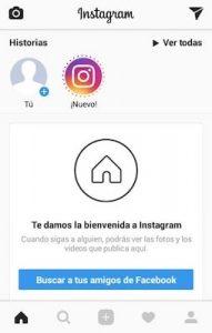 Como crear una cuenta de Instagram 1