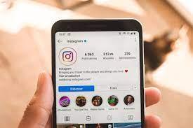 Comment mettre des photos sur Instagram 1