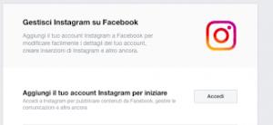 collegare account facebook a instagram 3