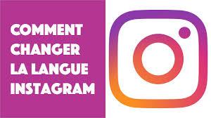 comment changer la langue sur Instagram sur iPhone