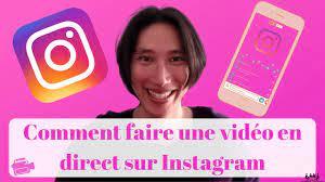 comment faire un direct sur Instagram sur ordinateur