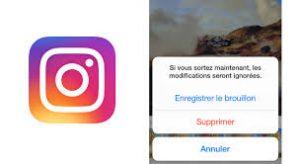 comment reposter une photo supprimer sur Instagram