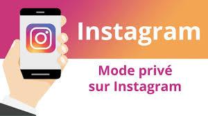 comment se mettre en privé sur Instagram 1