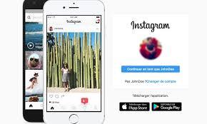 comment supprimer un compte lier sur Instagram 2