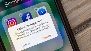 come eliminare instagram dal telefono 3