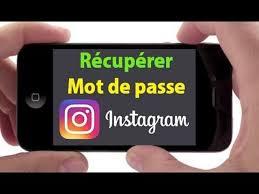 comment changer le mot de passe Instagram oublié 1