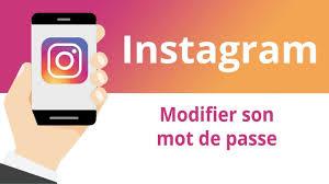 comment changer le mot de passe sur Instagram