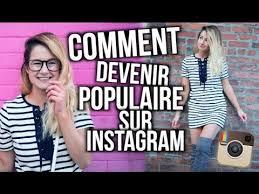comment faire pour devenir populaire sur Instagram 1