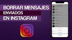 como borrar todos los mensajes de Instagram 4