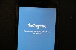 Instagram Konto löschen über App