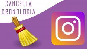 come cancellare la cronologia di instagram 1