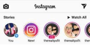 comment revoir un live Instagram public 5